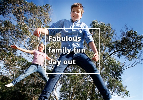 Fabulous holiday fun day out