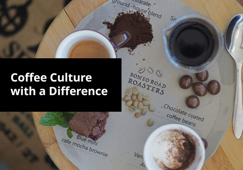 Coffee culture with a difference