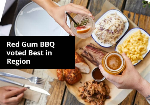 Red Gum BBQ named Best in Region by the Australian Good Food Guide.