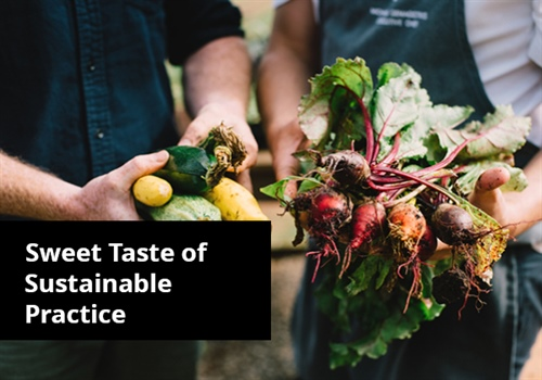 Sweet Taste of Sustainable Practice