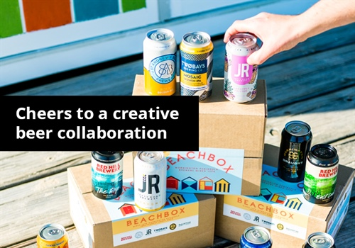 Creative collaboration keeping local beer industry alive.