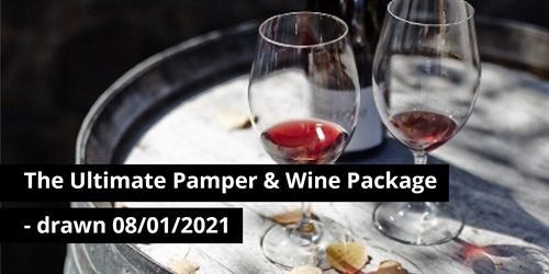 The Ultimate Pamper & Wine Package - won by Nitin J, Hawthorn