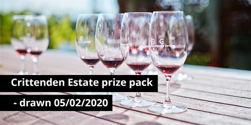 Crittenden Estate prize pack - drawn 05/02/2020