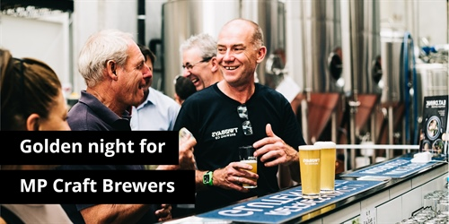 Golden Night for MP Craft Brewers