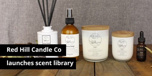 New fragrant experience for Red Hill Candle Co