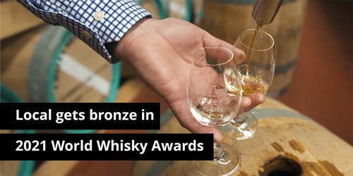 Chief's Son Distillery awarded Bronze in  2021 World Whiskies Awards