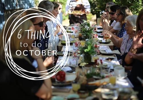 6 Spring things to do this October