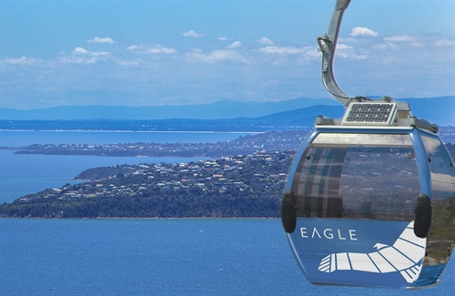 Extended Summer trading hours for Arthurs Seat Eagle