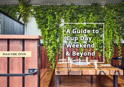 Our guide to Cup Day weekend and beyond