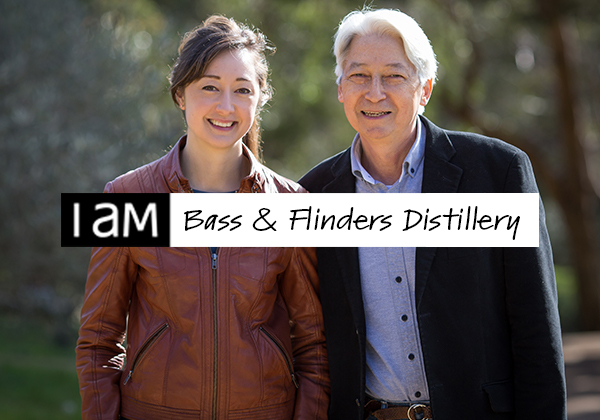I AM the story of Bass and Flinders Distillery