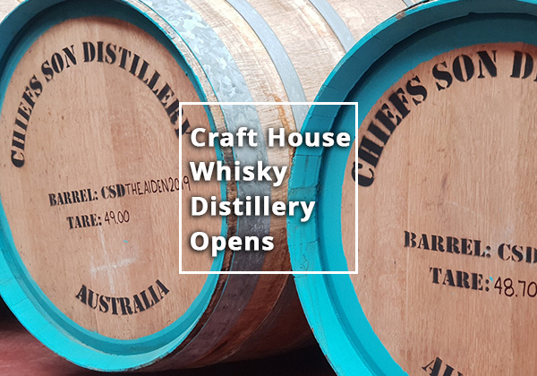 Craft House Single Malt Whisky Distillery Opens