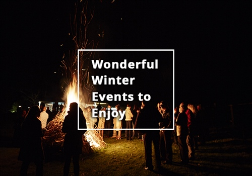 Wonderful winter events for you to enjoy