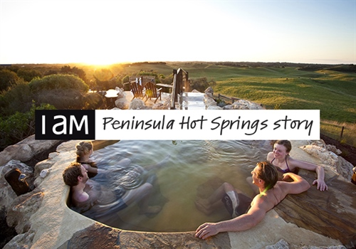 I AM the story of Peninsula Hot Springs
