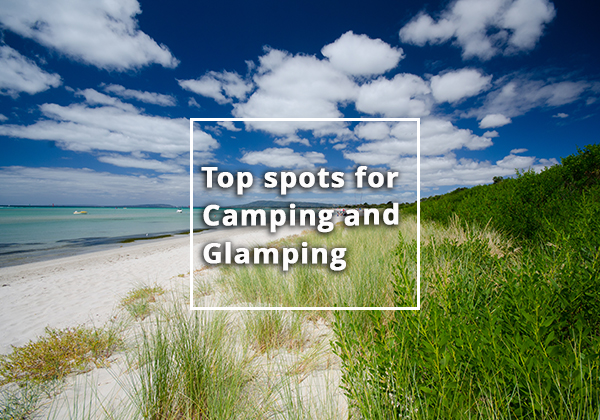 Our top 3 spring glamping and camping experiences