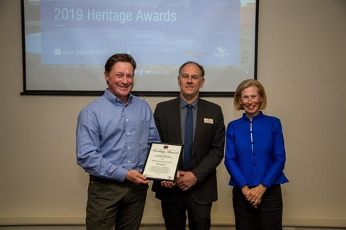 Mornington Boat Hire wins Heritage Award